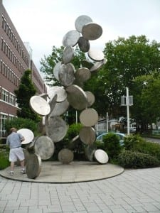 Coin sculpture