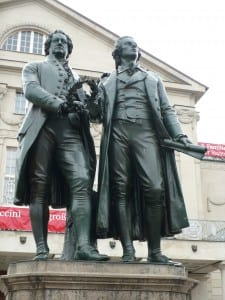 Goethe and Schilller