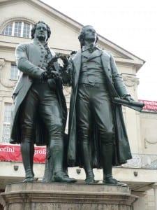 Goethe and Schilller