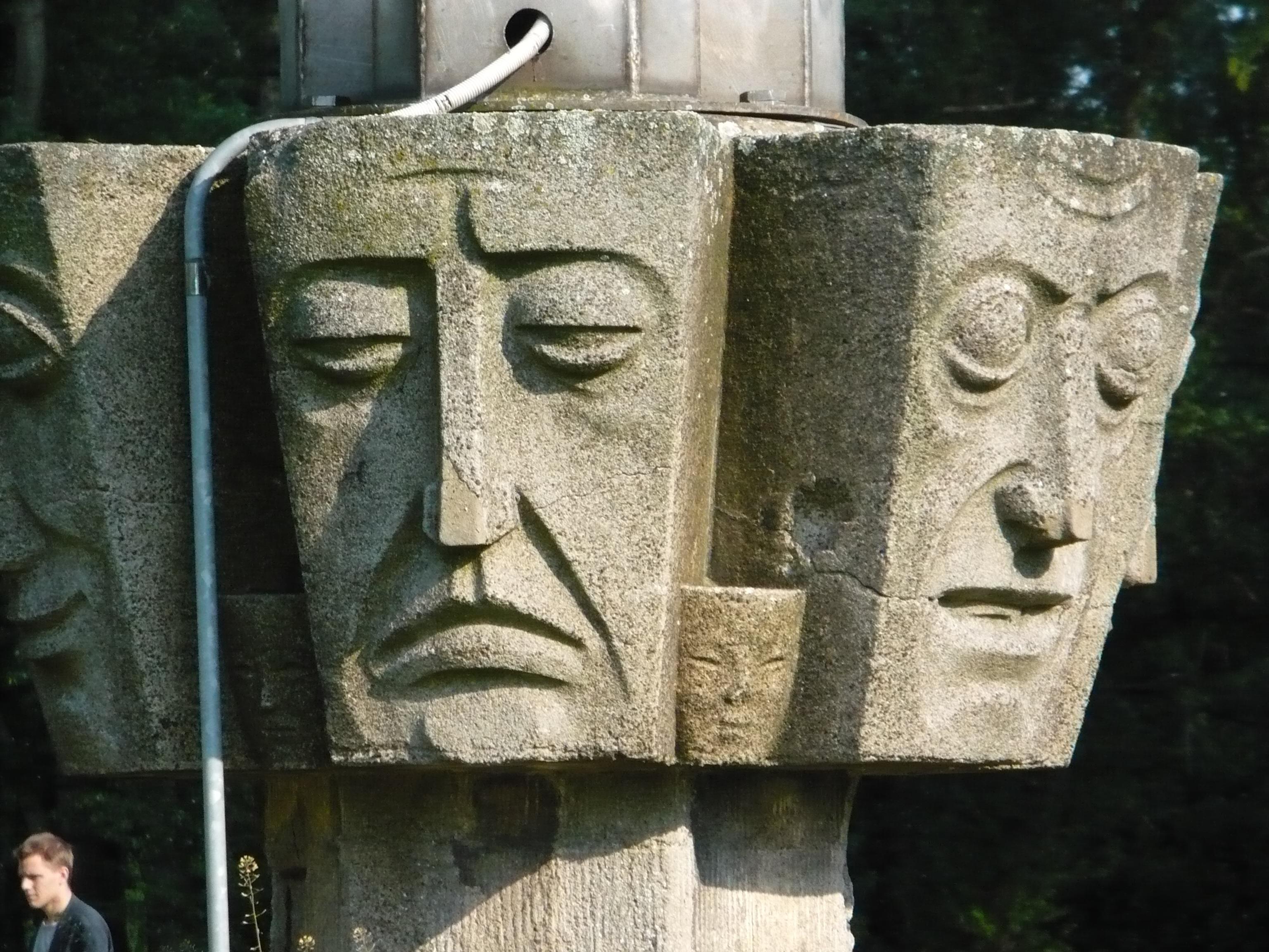 Stele sculpture 2